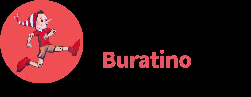 Buratino logo web